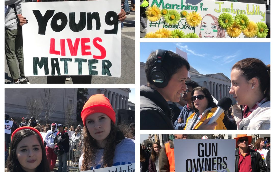 018 — March For Our Lives ~ Interviews with Youth Leaders at the National Rally for Gun Reform